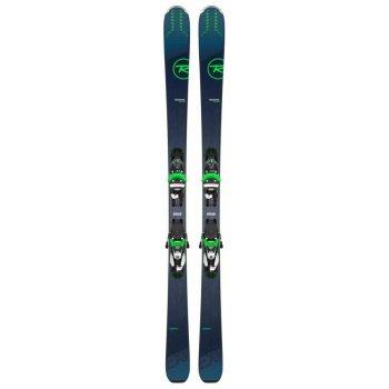 Ski Homme Rossignol Experience 84AI + Fixations NX 12 KONECT GW B90 Black/Green - Montisport.fr
