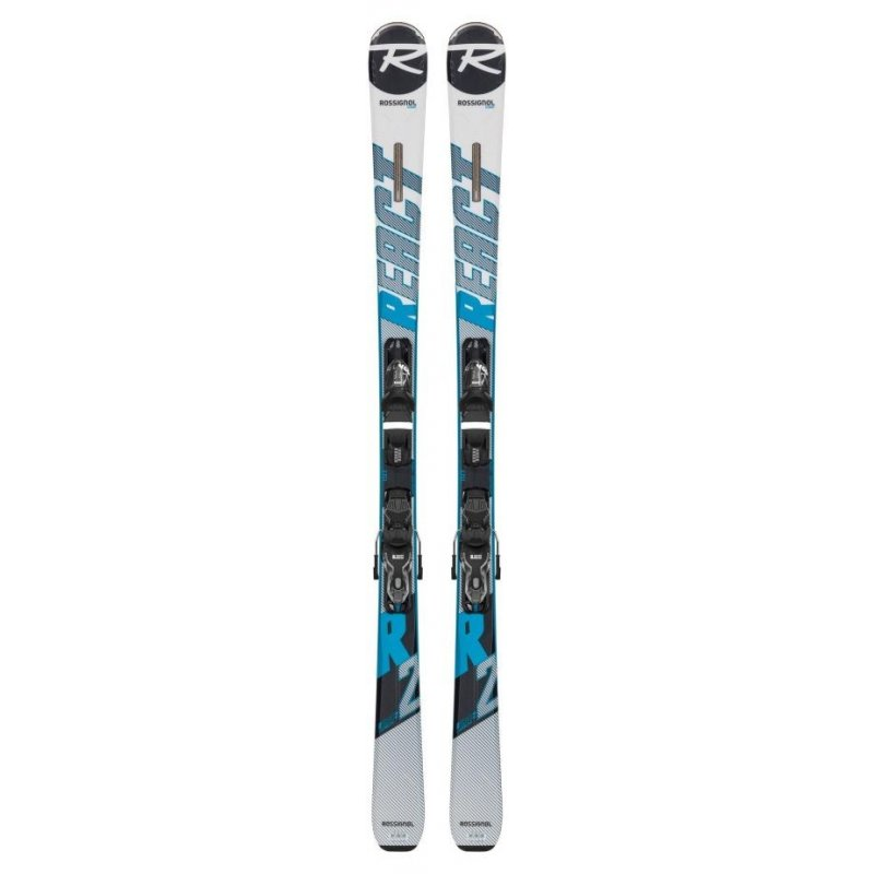 Skis Homme Rossignol React R2 + Fixations XPRESS 10 B83 Black - Montisport.fr