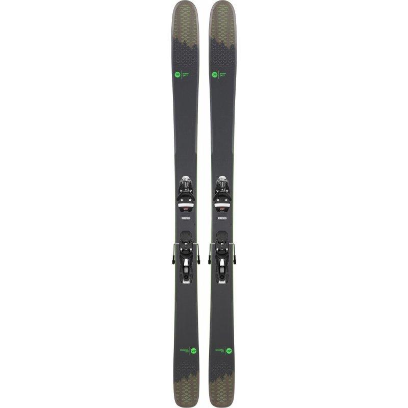 Skis Homme Rossignol Sky 7 HD + Fixations NX 12 KONECT GW B100 Black - Montisport.fr