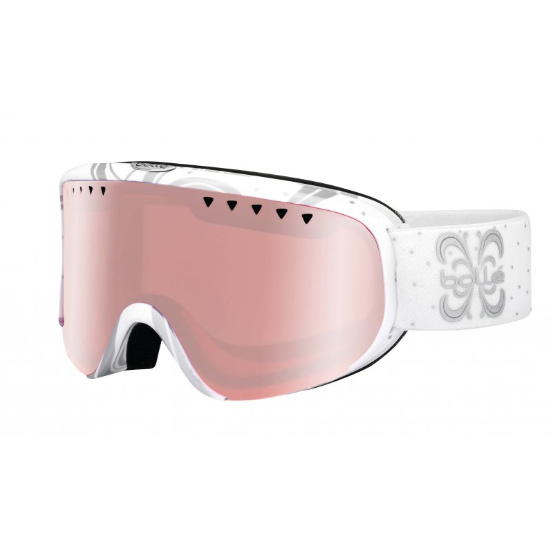 Masque Femme Bollé Scarlett White Night Shiny - Montisport.fr