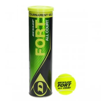 Balles de tennis DUNLOP all court tournament select  4B - montisport.fr