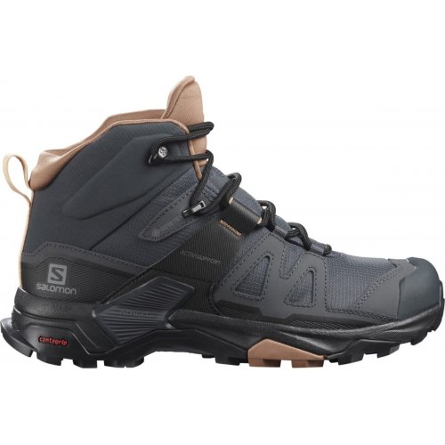 Chaussures de Randonnée Femme Salomon Ultra 4 Mid GTX - montisport.fr