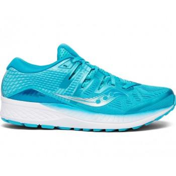 Chaussures de running Saucony Ride Iso Bleu - Femme - montisport.fr