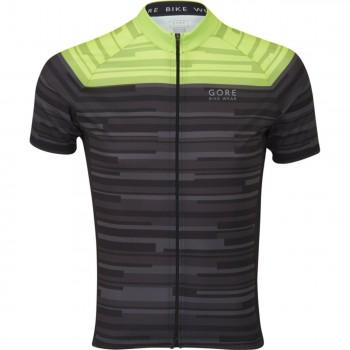 Maillot de cyclisme Gore C3 Stipes - Montisport.fr