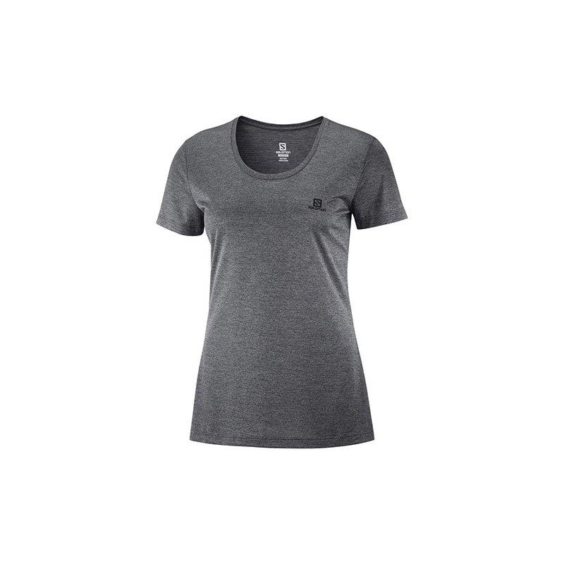 T-Shirt Running / Trail Femme Salomon Agile SS Tee - montisport.fr
