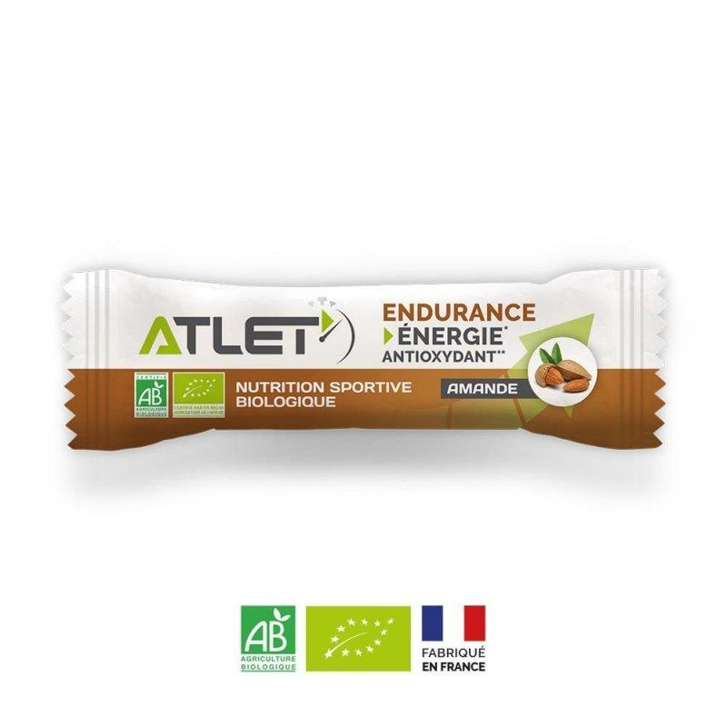 Barre énergétique Bio Amand ATLET - Montisport.fr