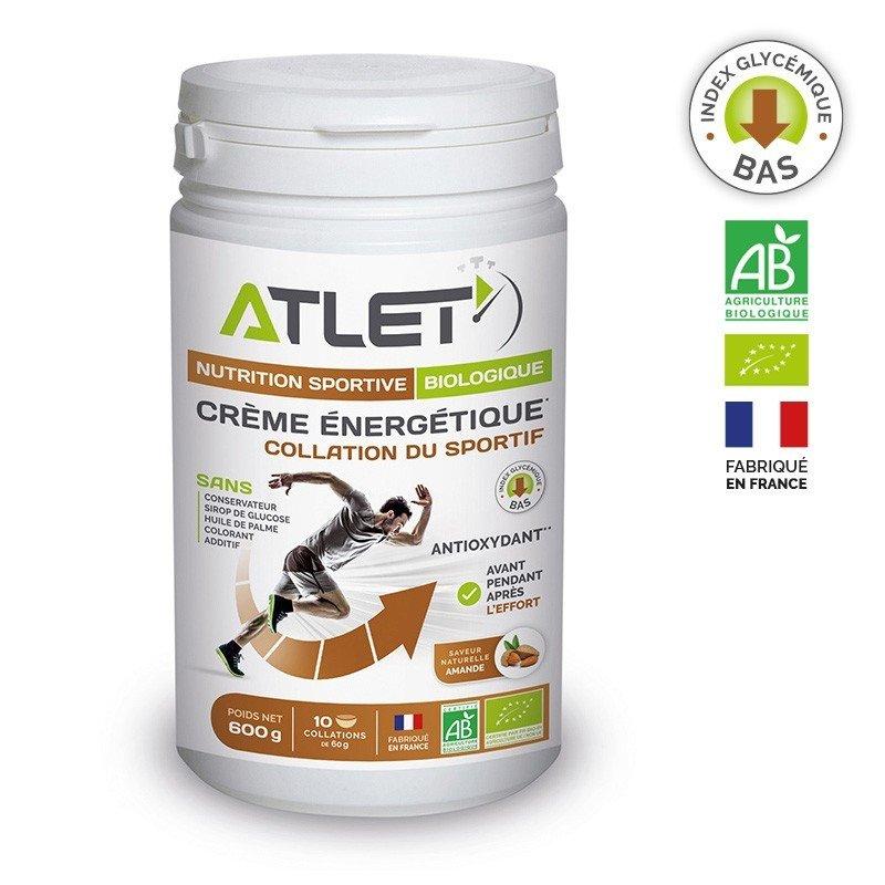 Crème énergétique Bio Amande ATLET