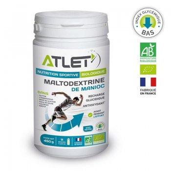 Maltodextrine Bio ATLET - Montisport.fr