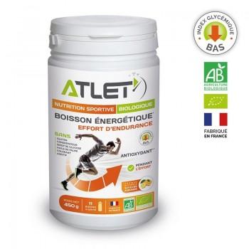 Boisson énergétique Bio saveur Agrumes ATLET - Montisport.fr