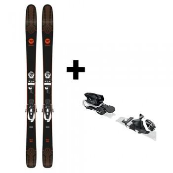 Ski Homme Sky 7 Hd (Konect) + Fixation Spx 12 Konect Dual Wtr B100 Bw - montisport.fr