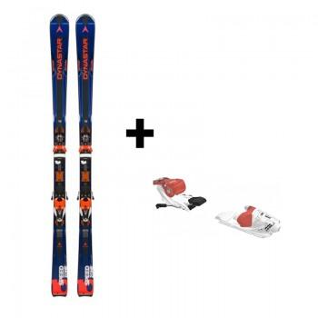 Ski Homme Speed Zone 10 Ti (Konect) + Fixation Xpress W 10 B83 White/Corail - montisport.fr