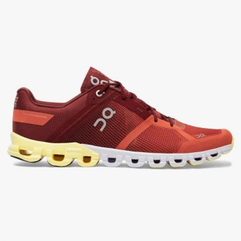 Chaussure Homme On Cloudflow Rust / Limelight - Montisport.fr