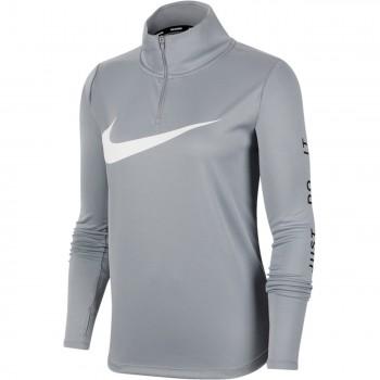 T-Shirt Manches Longues Femme Nike Midlayer QZ Swsh Run - Montisport.fr