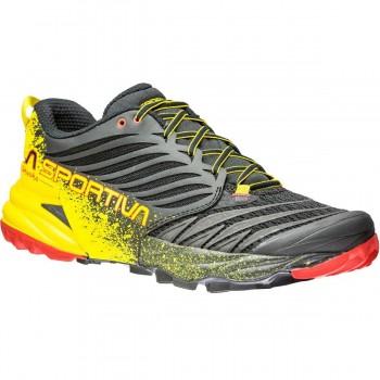 Chaussure Homme La Sportiva Akasha Black / Yellow - Montisport.fr